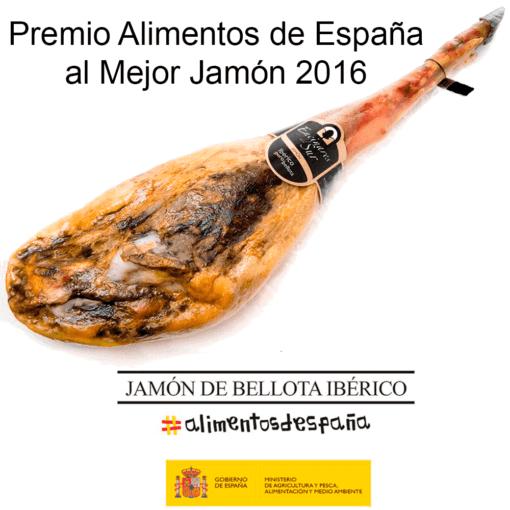 Acorn-fed 100% Iberian Ham