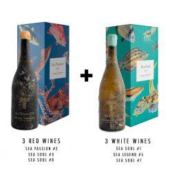 Pack Vino Submarino - 6 Botellas Sea