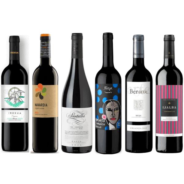 ChinChin Tintos Rioja Ecológicos