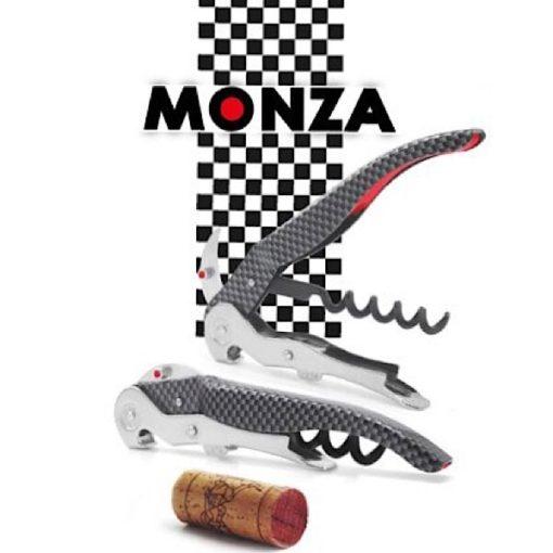 Sacacorchos ClickCut Monza Carbon Effect