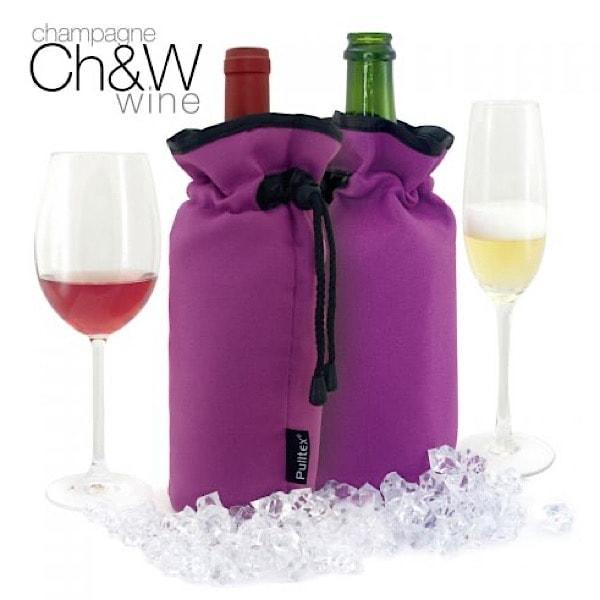 Purple Cooler Bag