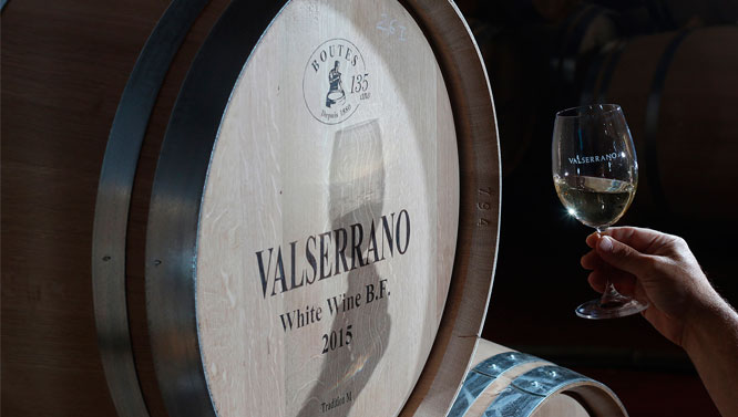 Valserrano Blanco Barrica 2017