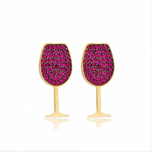 Wine Glasses Earrings
