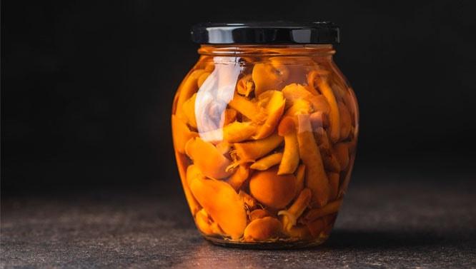 Hongos (Boletus Edulis) Troceado En Aceite De Oliva 230 grs