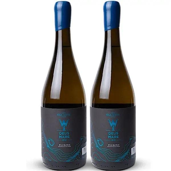 """Underwater VS Earthly Wine """"Deus Mare"""""""