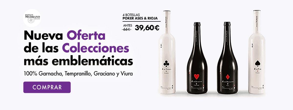 Comprar Oferta Poker Ases & Rioja